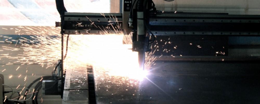 Image d'une tête plasma en plein travail.